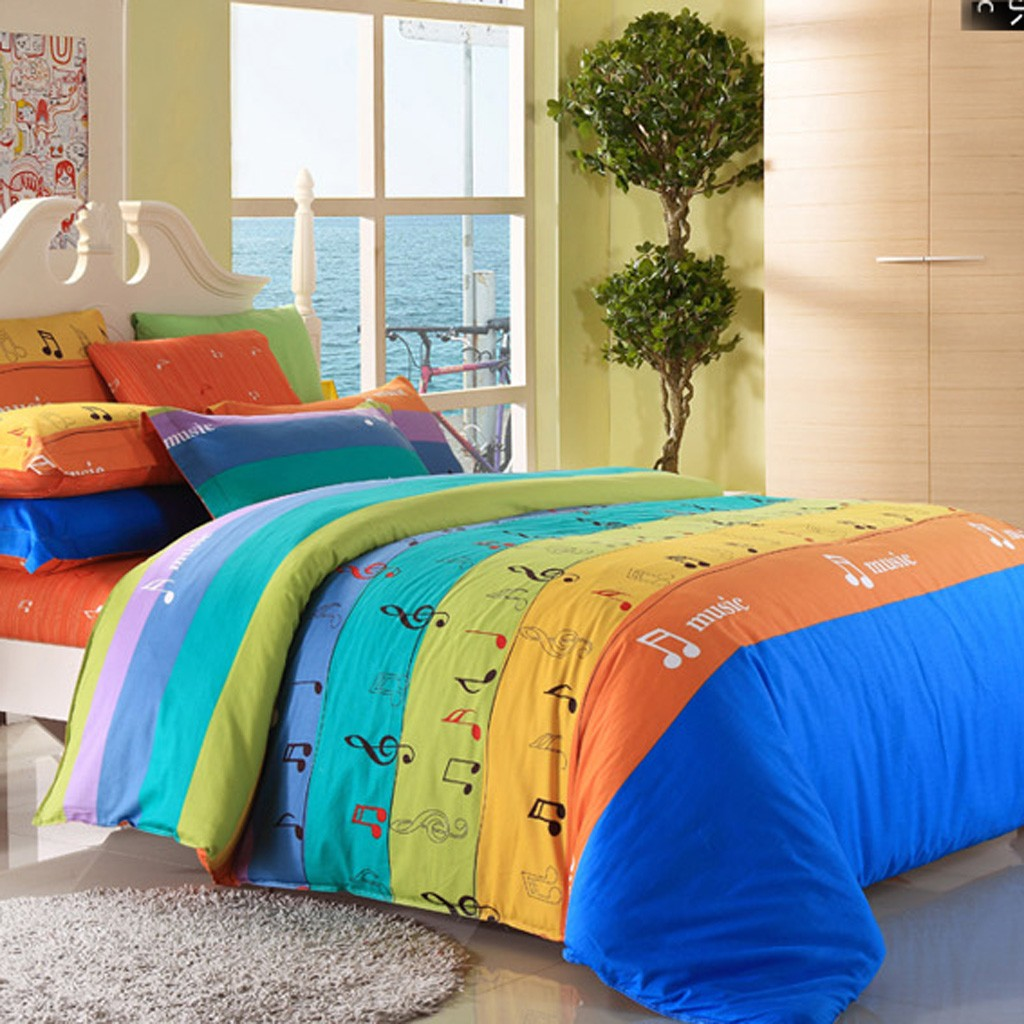 Musical bedding sets bedding set musical themed bedding and bedroom decor glee piano treble - Music notes comforter ...