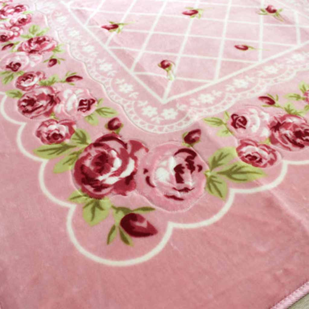 Home —— Pink Chic Rose Rug