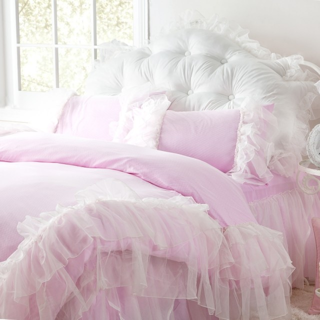 Shabby Chic Ruffled Bedding