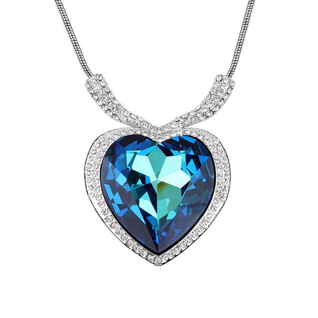 Home —— Hearts Of The Ocean Titanic Crystal Necklace