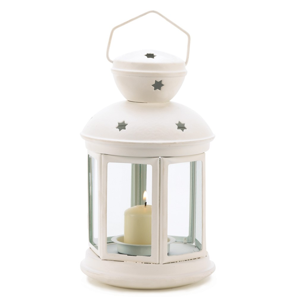 White colonial candle lamp - Candele decorative ikea ...
