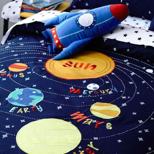 Solar System Bedroom : solar system bedding