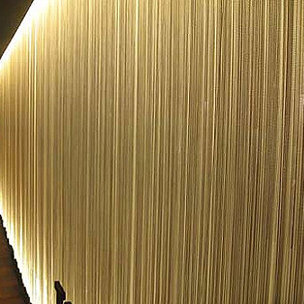 Beige String Curtain