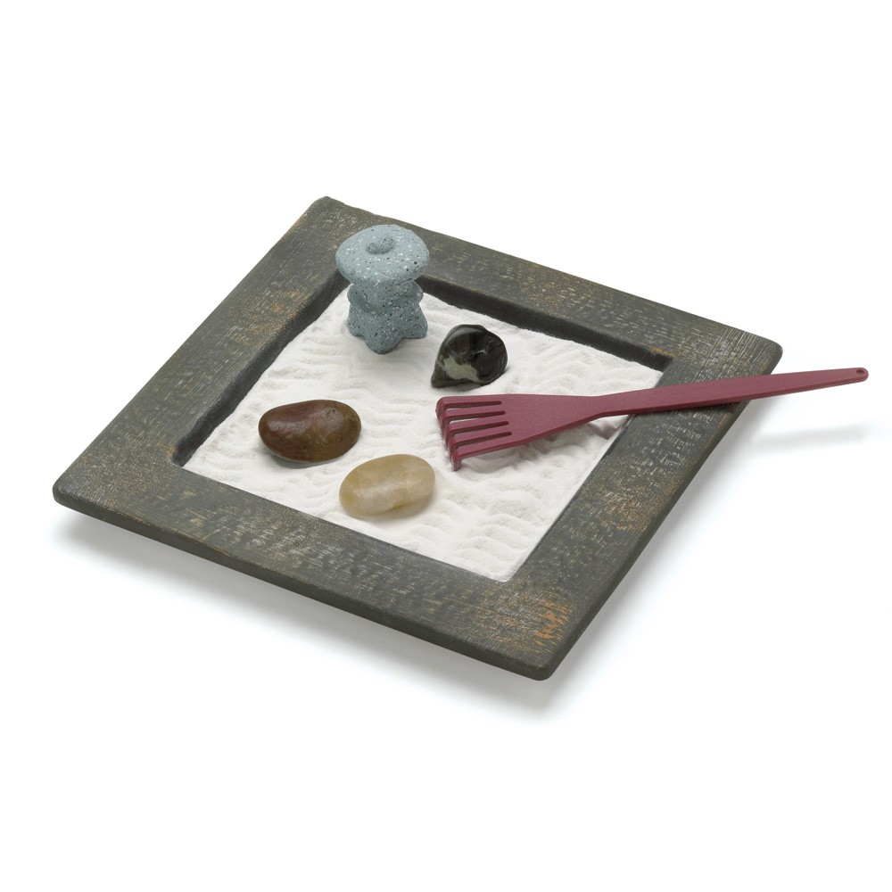 Japanese tabletop zen garden for Table zen garden