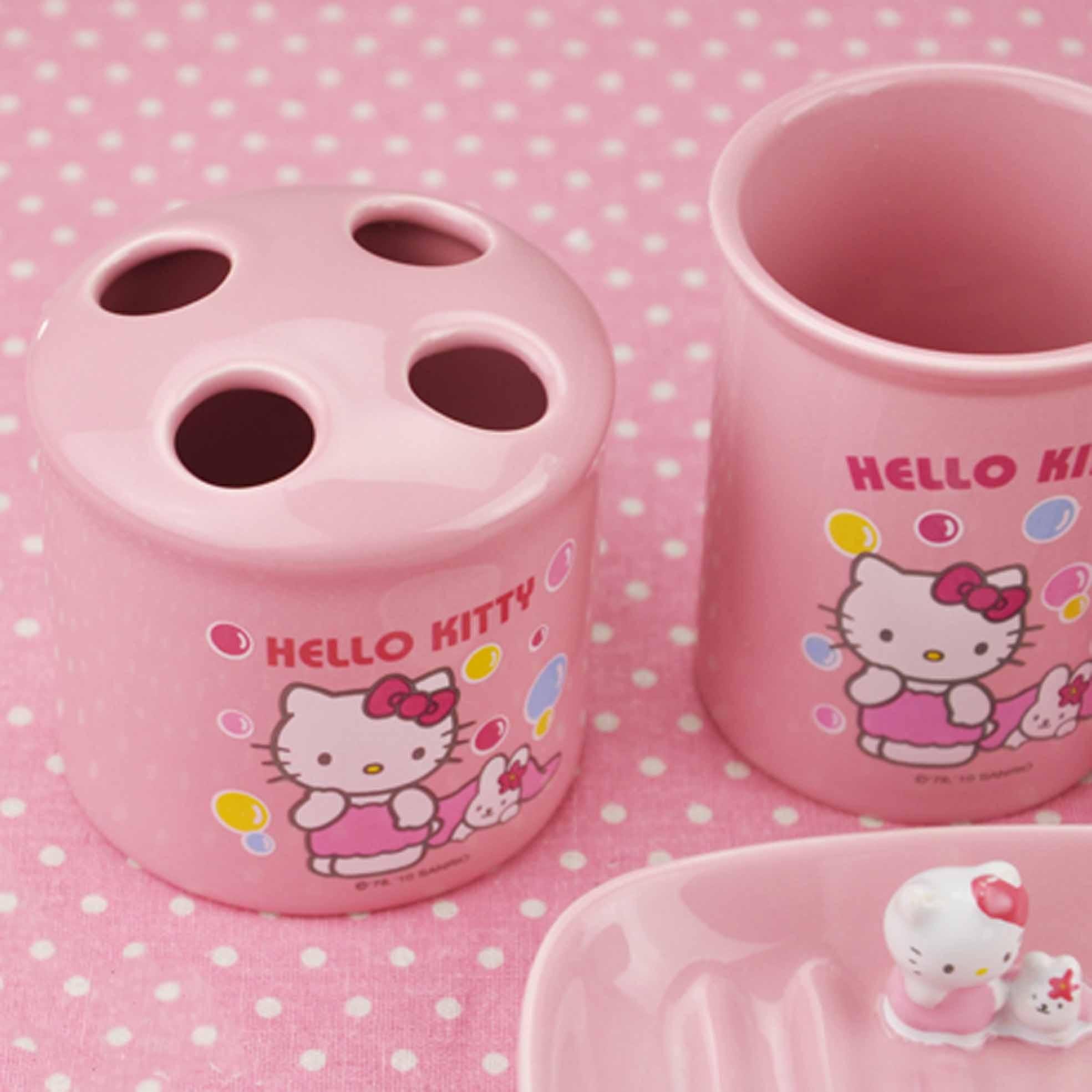 Hello Kitty Bathrooms My Hello Kitty Bathroom Wow It Looks