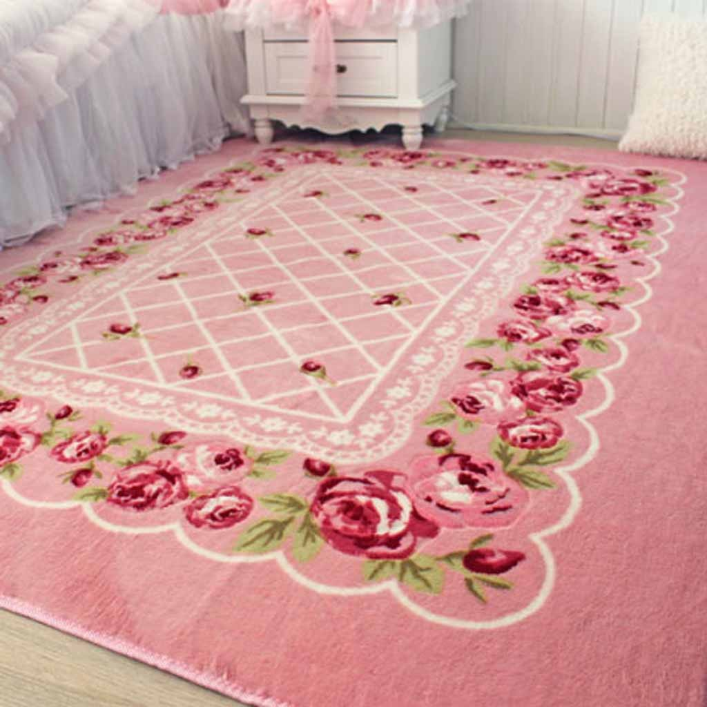 Pink Kitchen Floor Rug
