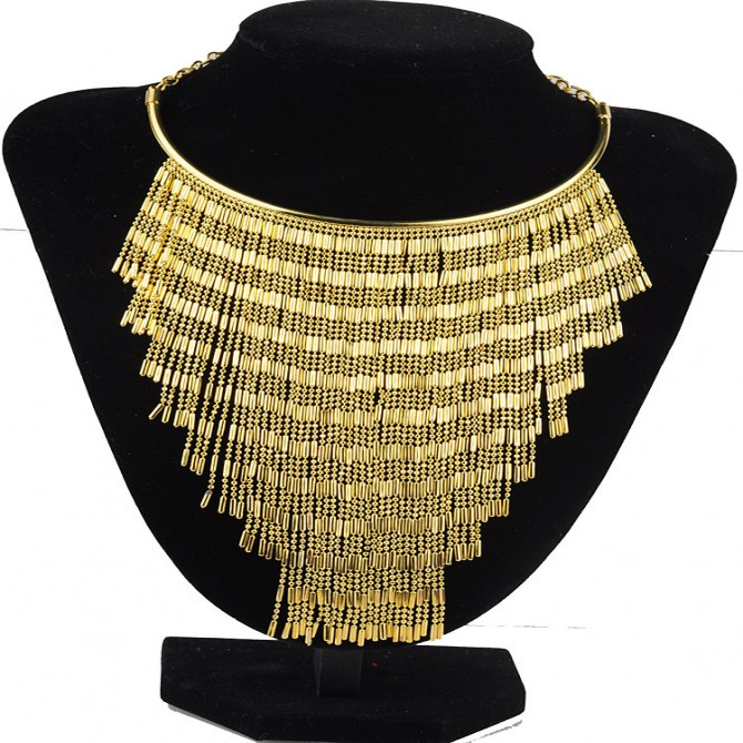 Fashion Layered Chain Necklace