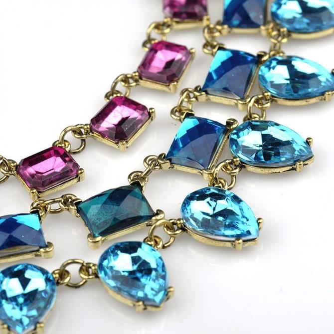 Gem Layering Necklace