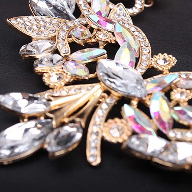 Gothic Bib Rainbow Necklace