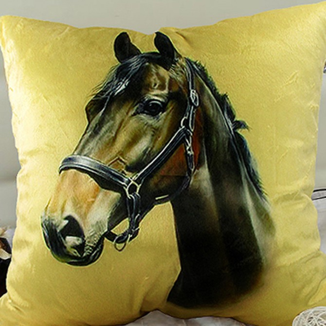 Mustang House Cushion Cover B