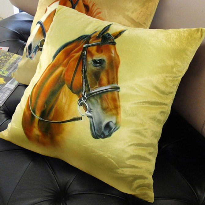 Mustang House Cushion Cover C