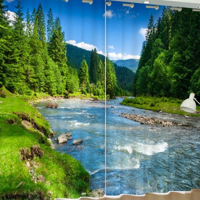 Mountain Creek Blackout Curtain Set