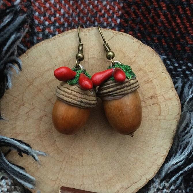 Acorn Earring