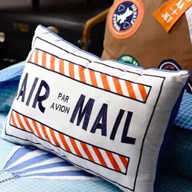 Air Mail Pillow