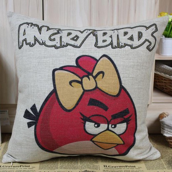Angry Bird Cushion Cover