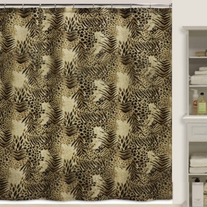 Animal Tiger Print Shower Curtain