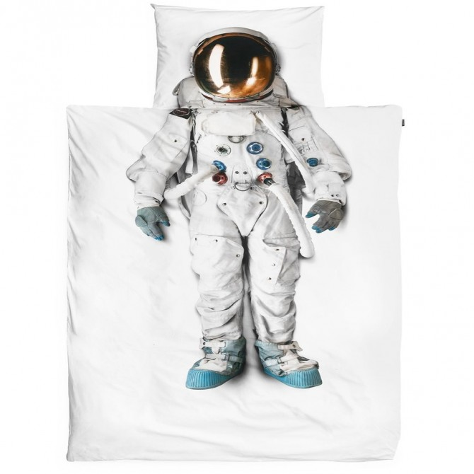 Kids Astronaut Duvet Cover Set