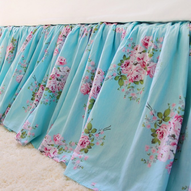 Luxury Wrap Around Bed Skirt