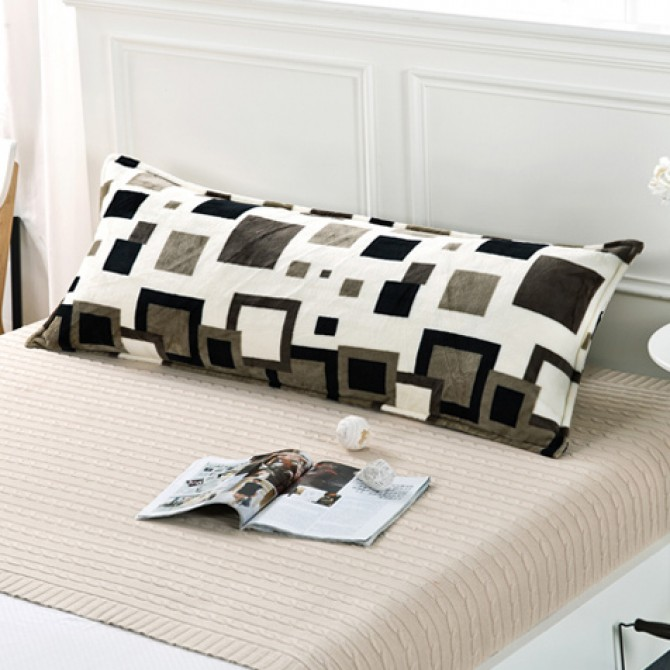 Modern Squares Body Pillow Cover