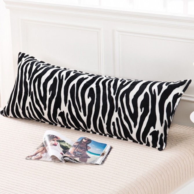 Zebra Stripes Body Pillow Cover