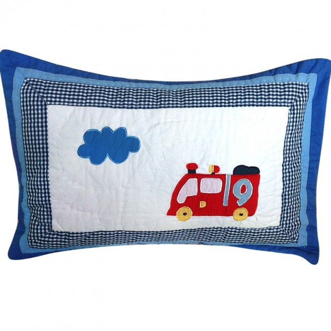 Red Car Decorative Cushion Cover