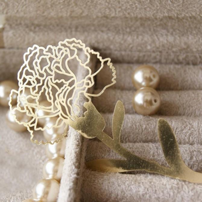 Carnation Bookmark