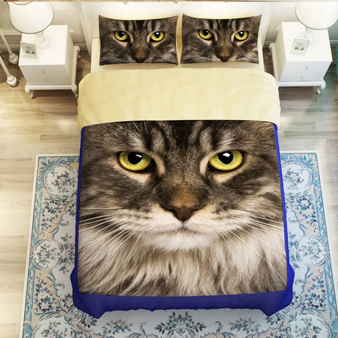 Cat Duvet Cover Set
