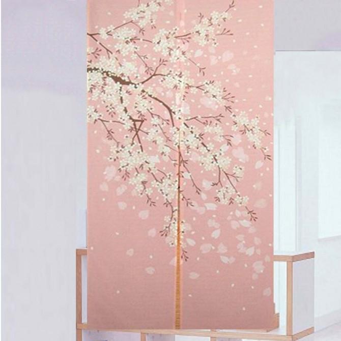 Cherry Blossom Door Curtain