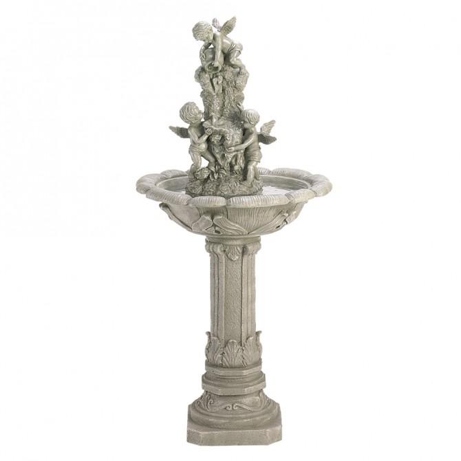 Cherub Garden Fountain