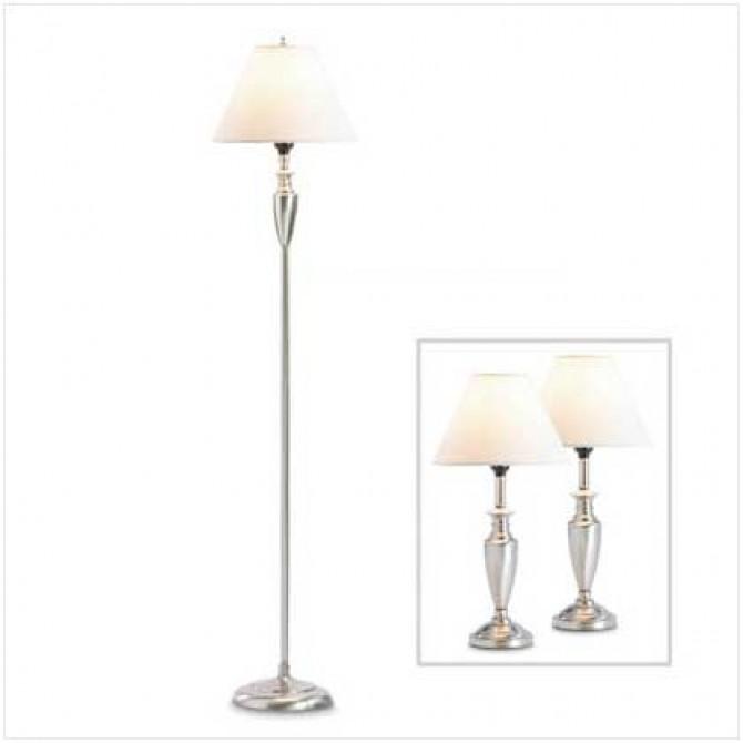 Contemporary Lamp Trio