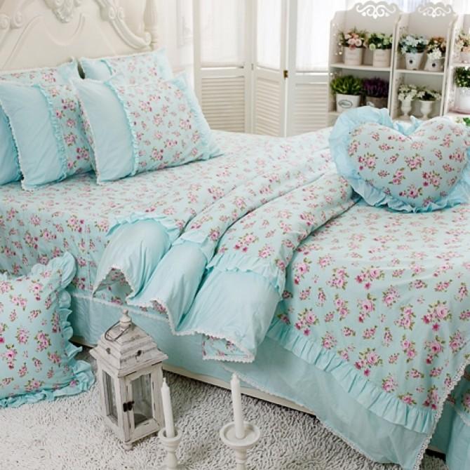 Sweet Roses Duvet Cover Set