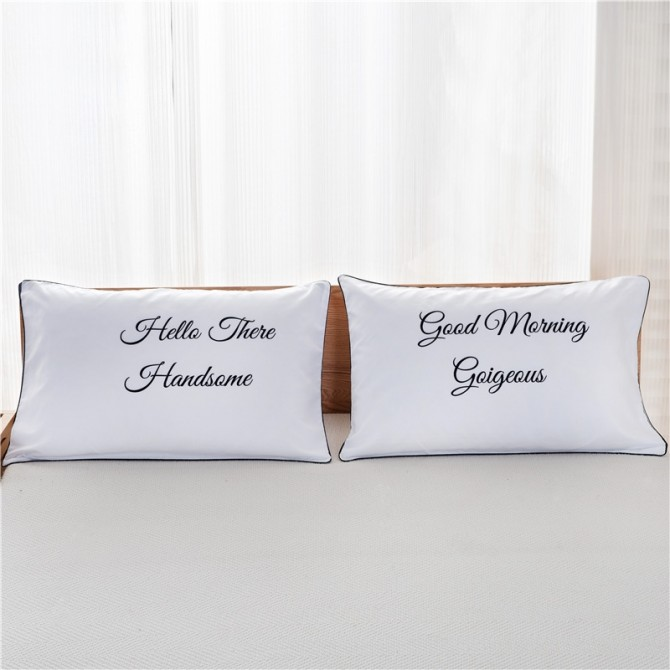 Loves Good Morning Pillowcase (1 pair)