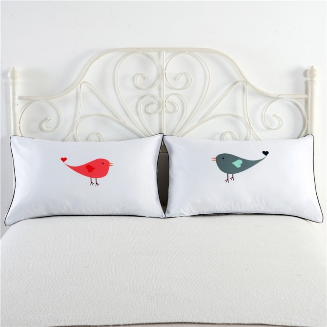 Love Birds Pillowcase (1 pair)