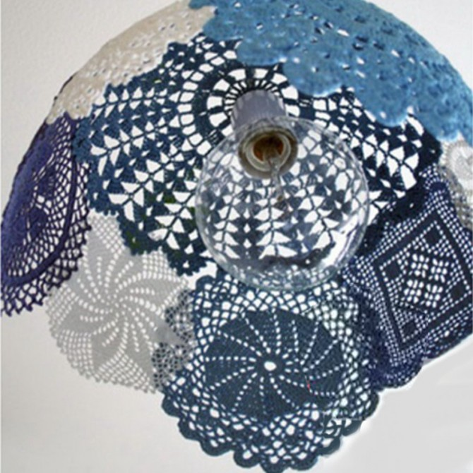 Crochet Lampshade Circle