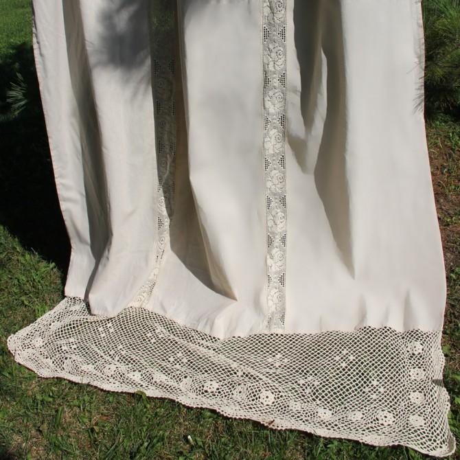Amour Handmade Crochet Curtain