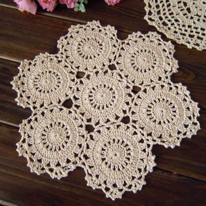 Snowflake Crochet Doily