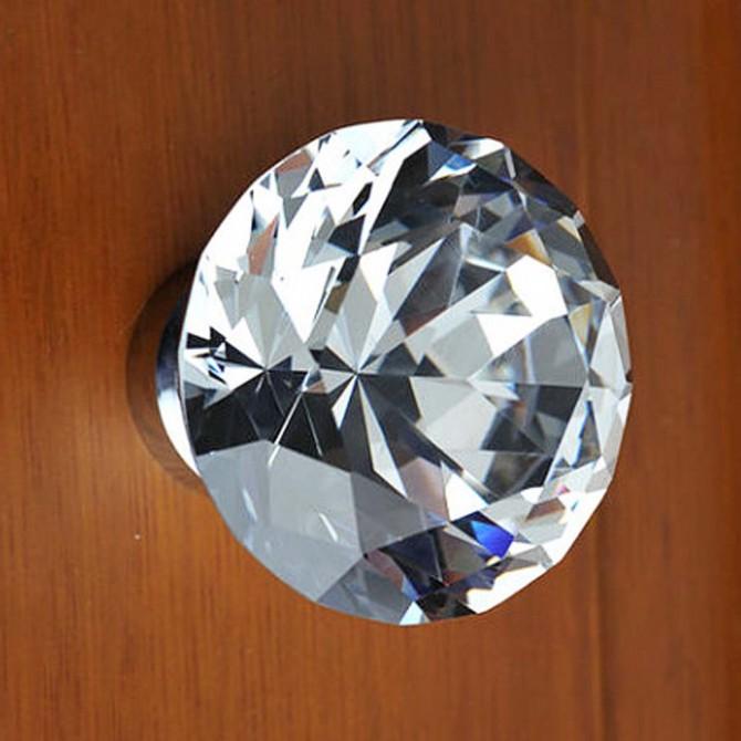 Sparkle Crystal Doorknob