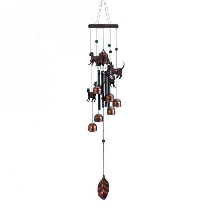 Cute Cats Wind Chimes