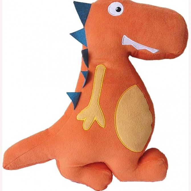 3D Dinosaur Pillow