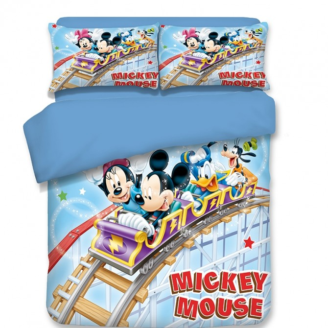 Mickey Mouse Blue Duvet Cover Set