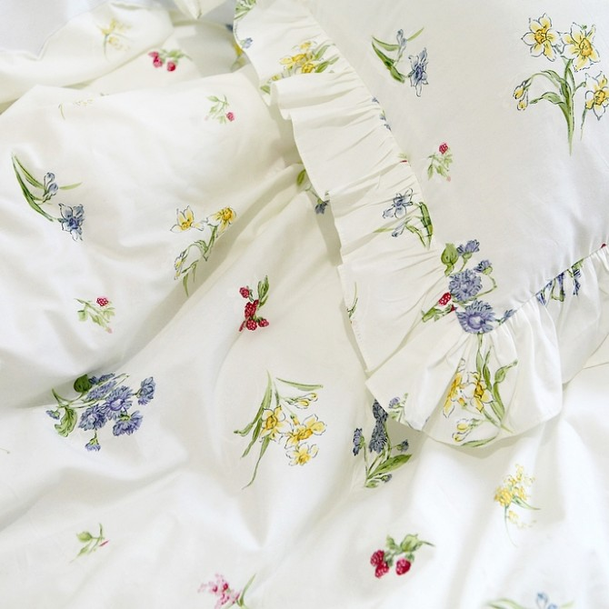 Early Spring Botanical Sheet Set