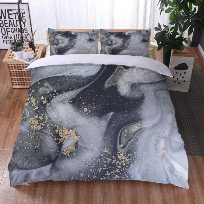 Marble River Duvet Cover Set 7