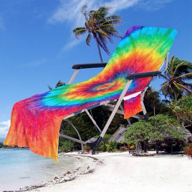 Fashion Beach Chair Chaise Chair Patio Chair Cover