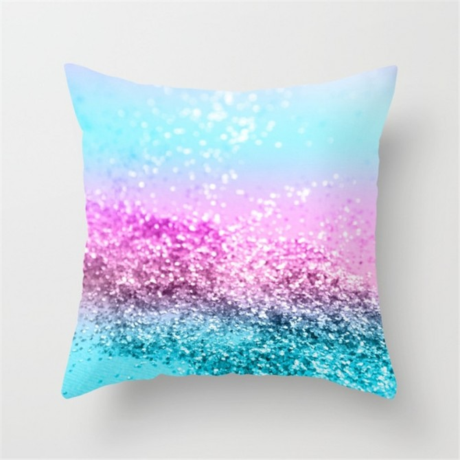 Sequin Pattern Cushion Cover