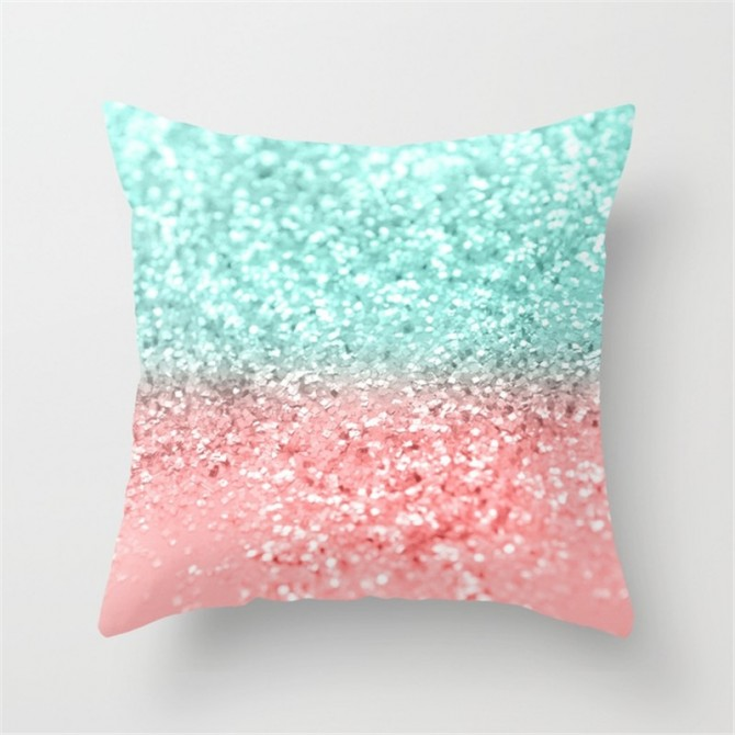 Sequin Pattern Cushion Cover D