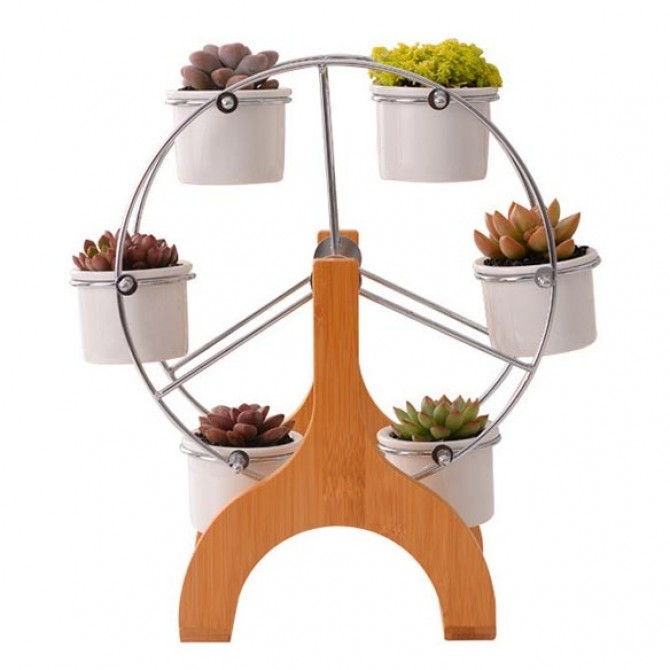 Ferris Wheel Succulent Planter