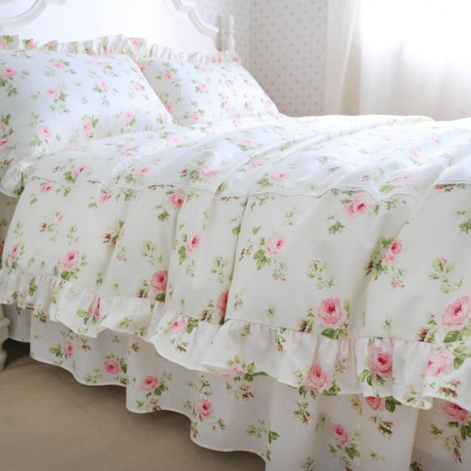 Cottage Rose Duvet Cover Set