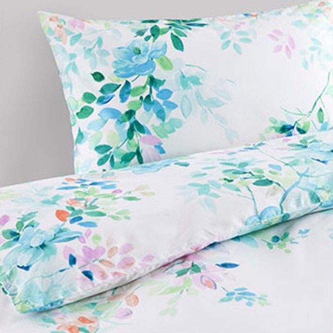 Green Tree Leaves Duvet  Cover Set