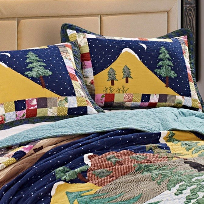 Forest Quilt Bedding