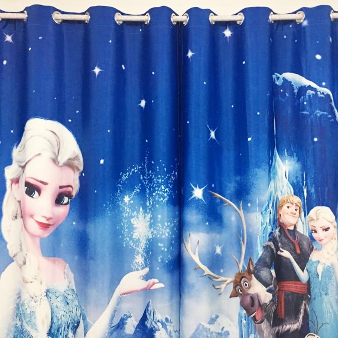 Frozen Elsa Curtain Set